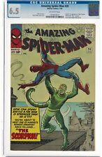 The Amazing Spider-Man #20 (Jan 1965, Marvel Comics) CGC 6.5 FN+   1st Scorpion