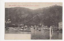 Italy, Como, Borgo e Salita Funicolare a Brunate Postcard, B002
