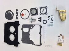 MOTORCRAFT 2100 CARBURETOR KIT 1974-1980 AMC JEEP 304-360 ENGINE BRASS FLOAT