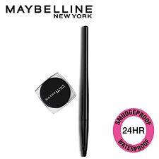 2X Maybelline New York Lasting Drama Gel Eyeliner ,Blackest Black, 2.5g
