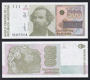 Argentina 500 australes 1988 (90) FDS/UNC  B-02