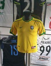 Maillot jersey camiseta shirt camisa bresil brasil brazil 1998 98 Ronaldo XS
