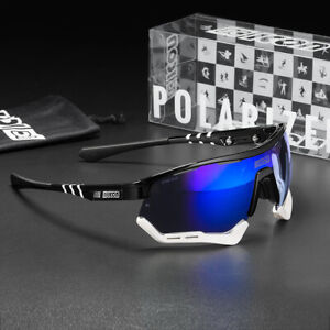 Polarized TR90 Cycling Sunglasses  Riding Glasses Sports Outdoor Sunglasses
