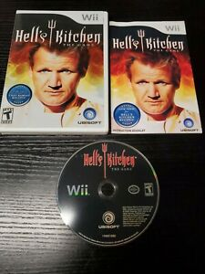 Hell's Kitchen The Game Nintendo Wii Complete With Manual FAST SHIPPING