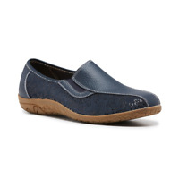 Womens Bellisimo Ellie Casual Flat Comfort Women's Walking Navy Black Shoes