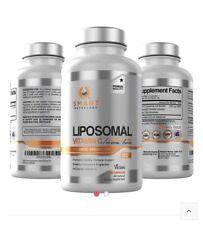 Smart NUTRA Labs liposomal vitamin c capsules.700mg Per Capsule