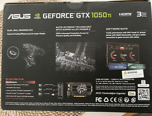💥Asus GeForce GTX 1050 Ti 4GB Phoenix Graphics Card ✈️SHIPS Today FREE UPS! 💥