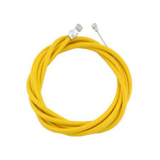 Yellow Standard Universal Bicycle Bike Brake Cable, Stop, and Housing Set Brakes
