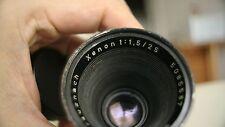 Schneider cine xenon 25mm f1.5 lens arri arriflex GH5 BMPCC bmmcc BMCC bolex D16