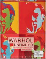 Affiche Originale - Andy Warhol - Warhol Unlimited - Musée Art Moderne - 2015