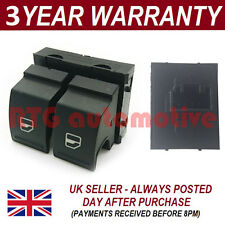 DOUBLE ELECTRIC POWER WINDOW CONTROL SWITCH BUTTON FRONT FOR SEAT LEON 2005-2012