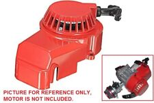RED ALUMINUM PULL STARTER START RECOIL 47/49CC MINI POCKET BIKE ATV H PU10R