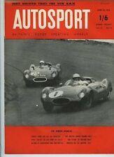Autosport 20th 1956 de abril * BRM 2.5 litros F1 coche prueba *
