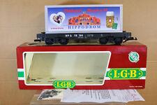 LGB 4085 LB G SCALE WP&YR HIPPODROM OKTOBERFEST MUNCHEN 97 CONTAINER WAGON nk