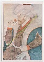 CP ART TABLEAU NAKKAS SINAN BEY Portrait du Sultan Mehmet II le Conquérant