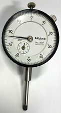 "Mitutoyo 2416F Dial Indicator, 0-1"" Range, .001"" Graduation, Lug Back"