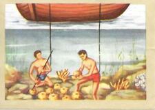 Chromos instructifs 2eme série n° 302 - Pêcheurs d'éponges
