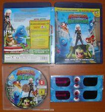 Monstruos contra Alienigenas (Monsters vs Aliens) [Blu-Ray Region Free A B C]