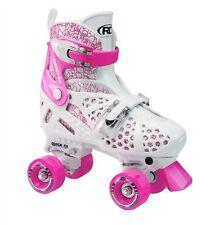 ROLLER DERBY TRAC STAR ADJUSTABLE ROLLER SKATES-GIRLS/KIDS US SIZE 3 -6, PINK