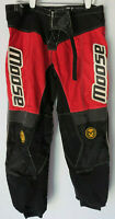 vtg MOOSE RACING M1 PANT RED/ BLACK FIT SIZE 36 (tag says 38)