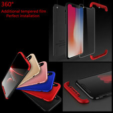 360° Full Cover Shockproof Hybrid Back Case+Film For Apple nokia meizu oneplus