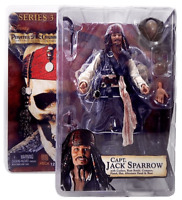 NECA Pirates of the Caribbean Series 3 Captain Jack Sparrow Action Figure