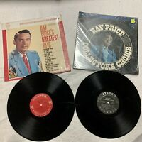 Ray Price Vinyl LP Record Album Greatest Hits & Collectors Choice VG Condition