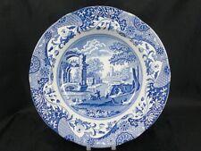 "Spode Blue Italian 9"" scalloped rim soup bowl Made in England               s775"