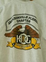 HARLEY OWNERS GROUP T-SHIRT Size MEDIUM Biker Club Davidson JAX Florida CHAPTER