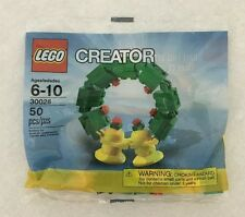 LEGO CREATOR 'HOLIDAY WREATH' (30028) POLY BAG - NEW UNOPENED!!!