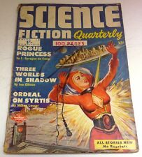 Science Fiction Quarterly #3 – UK pulp – October 1952 - Sprague de Camp, Lesser