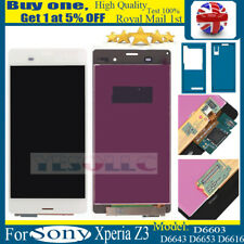 For Sony Xperia Z3 D6603 LCD Display Touch Screen Digitizer Replacement White
