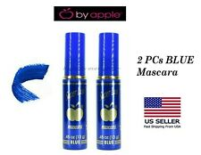 2 PCs Apple Super Lash BLUE Mascara *US SELLER* Authentic By Apple