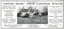 1937 Pasture House, North Luffenham, Rutland, To Be Sold At Auction Ad