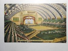 Old Postcard, ATLANTIC CITY, NEW JERSEY, WORLD'S LARGEST CONVENTION HALL AND AUD