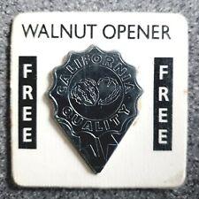 California Walnut Opener - On Original Promo Card - Unused from New/Sealed