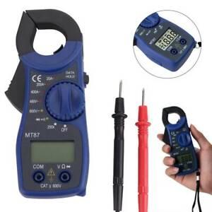 MT87 Digital Multimeter Amper Clamp Meter AC/DC Current Voltage Tester New