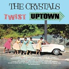 CD THE CRYSTALS TWIST UPTOWN THERE'S NO OTHER WAY ON BROADWAY FRANKENSTEIN TWIST