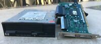 HP Storageworks Ultrium 1760 LTO-4 Internal Tape Drive with SCSI cable & PC Card