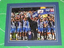 Wigan Athletic FC MountedChampions Photo Signed x 17 2016/17 1st Team Squad