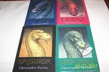 [Eragon, Inheritance Cycle] All Signed Christopher Paolini 4 vols 2003,1st/1st