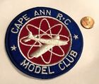 Vintage Embroidered Patch Cape Ann RC Model Club Gloucester Ma Radio Control Art