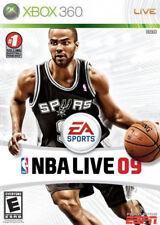 NBA Live 2009 Xbox 360 New Xbox 360