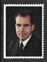 Richard Nixon Cinderella Stamp