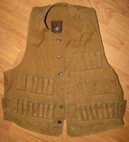 Vintage 1920's Redhead 12 Gauge Shotgun Shell Hunting Vest - Marked GV 40