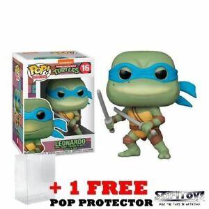 Teenage Mutant Ninja Turtles 1990 - Leonardo Retro #16 Pop Vinyl Figure Funko