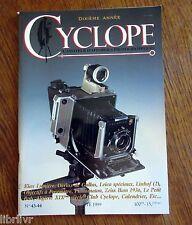 Appareil  photo REVUE CYCLOPE n° 43-44 Elax, Leica spéciaux, Objos à posemètre..