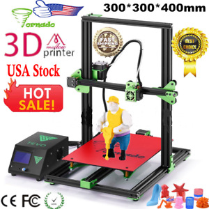 2018 TEVO Tornado 3D Printer Full  Assembled 300*300*400mm Large Printing Size
