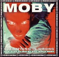 MOBY everything is wrong (DJ mix album) (2X CD, compilation, mixed, 1996, mute)