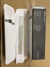 - Summit White - 40mm Genuine Apple Watch Nike Sport Loop